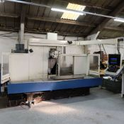 Huron Type GXB 411F Universal Toolroom Bed Type CNC Milling Machine. Table Size 1300 x 70mm.