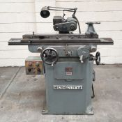 "Cincinnati No 2 Tilt Head Tool Cutter Grinder. Swing Over Table: 10"" Diameter."