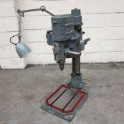 "Grimston Electriska Type P12AH Gear Head Bench Drill. Capcity: 1"" Diameter."