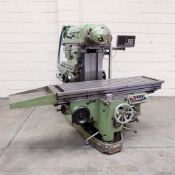 Huron NU5 Toolroom Universal Milling Machine. Table Size: 1635mm x 460mm.