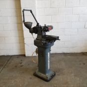 """Clarkson MK1 Tool & Cutter Grinding Machine. Capacity: 12"""" x 6"""" Diameter. Table Size: 13"""" x 4 1/4""""."""
