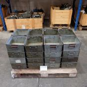 Quantity Of 32 Tote Bins With Handles.