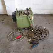 Oxford Model RT250 Oil Immersed Electric Arc Welding Set. Welding Capacity: 25 - 250 Amps.