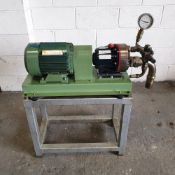 Pumps & Equipment Ltd Model D10 Hydra-cell Power Pump. 415V. 5.5HP. 1420rpm.