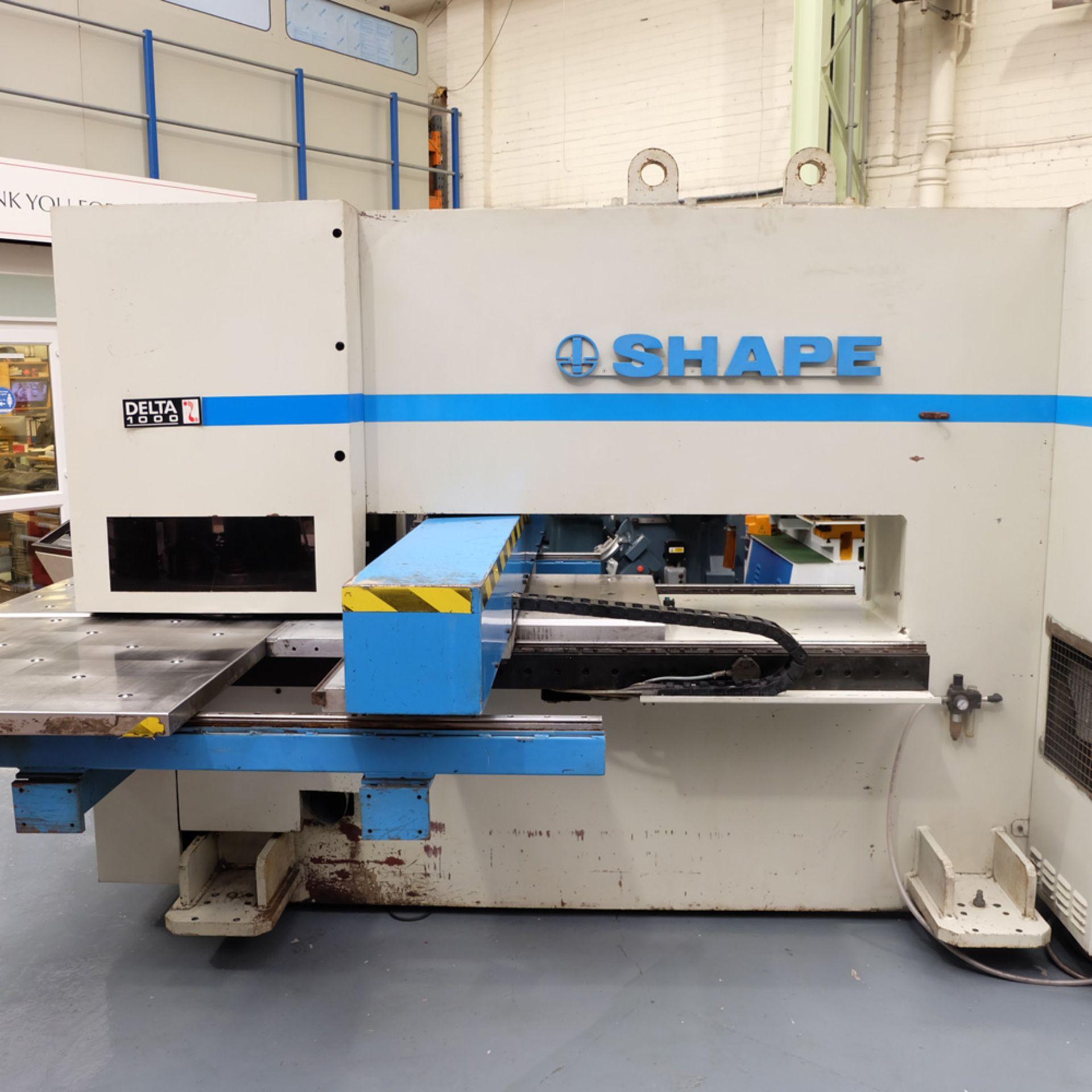 LVD Shape Delta 1000 Thick CNC Turret Punching Machine. - Image 5 of 18