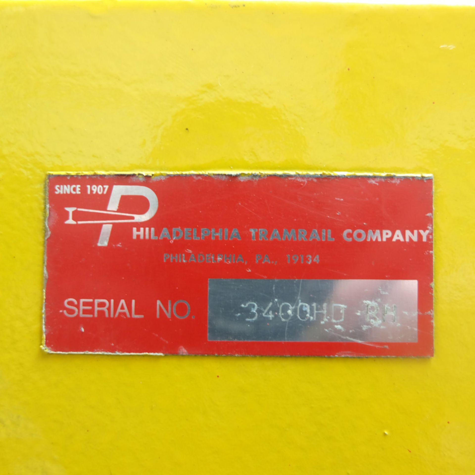 Philadelphia Tramrail Model 3400HD Vertical Downstroke Baler / Compactor. - Image 8 of 8