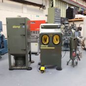 Hodge Clemco Enviraclean Type IND 800 Comp XL Pressure Blast Cabinet.