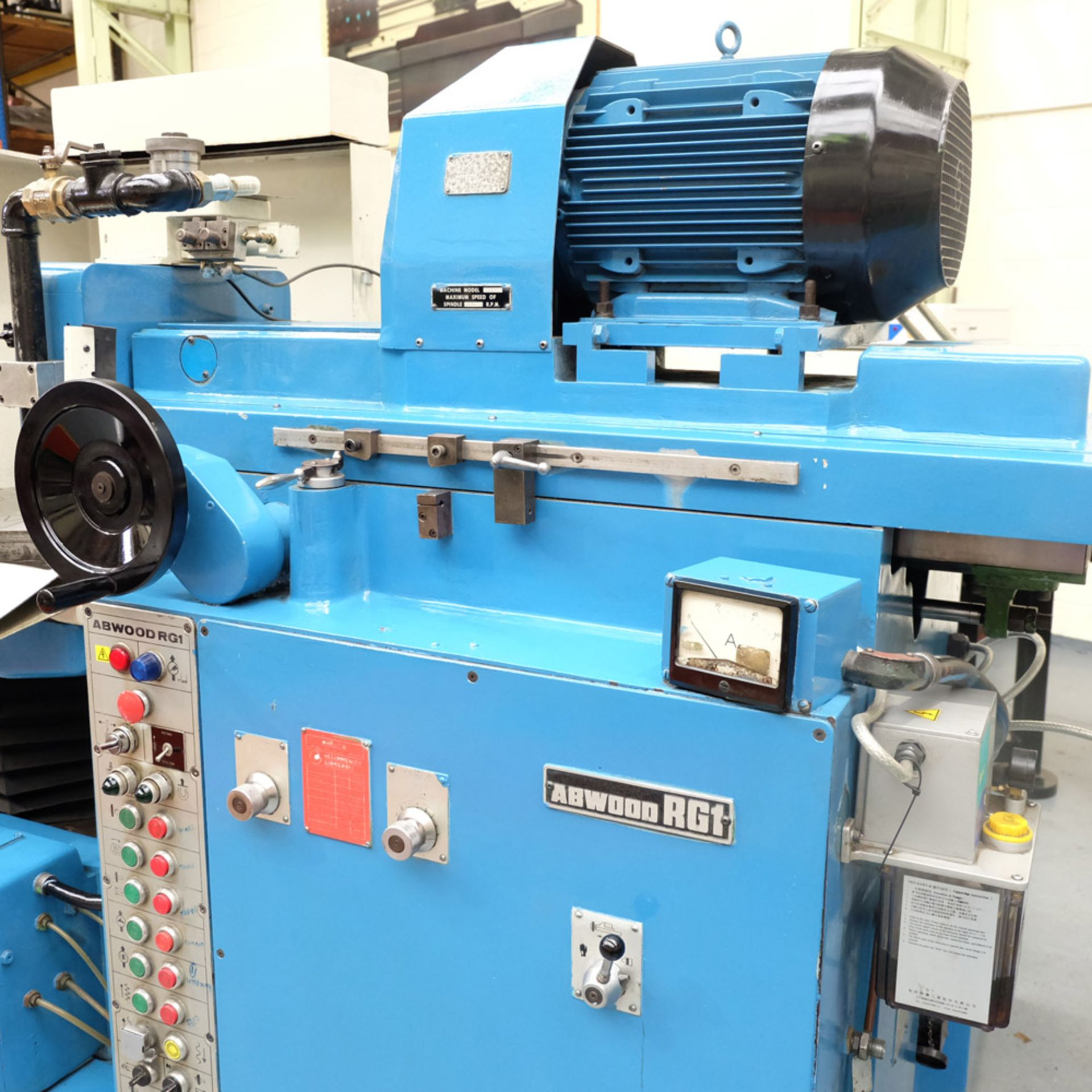 Abwood Type RG1 Tool Room Ring Grinder. Table Size 500mm. Magnetic Chuck 500mm. - Image 6 of 8