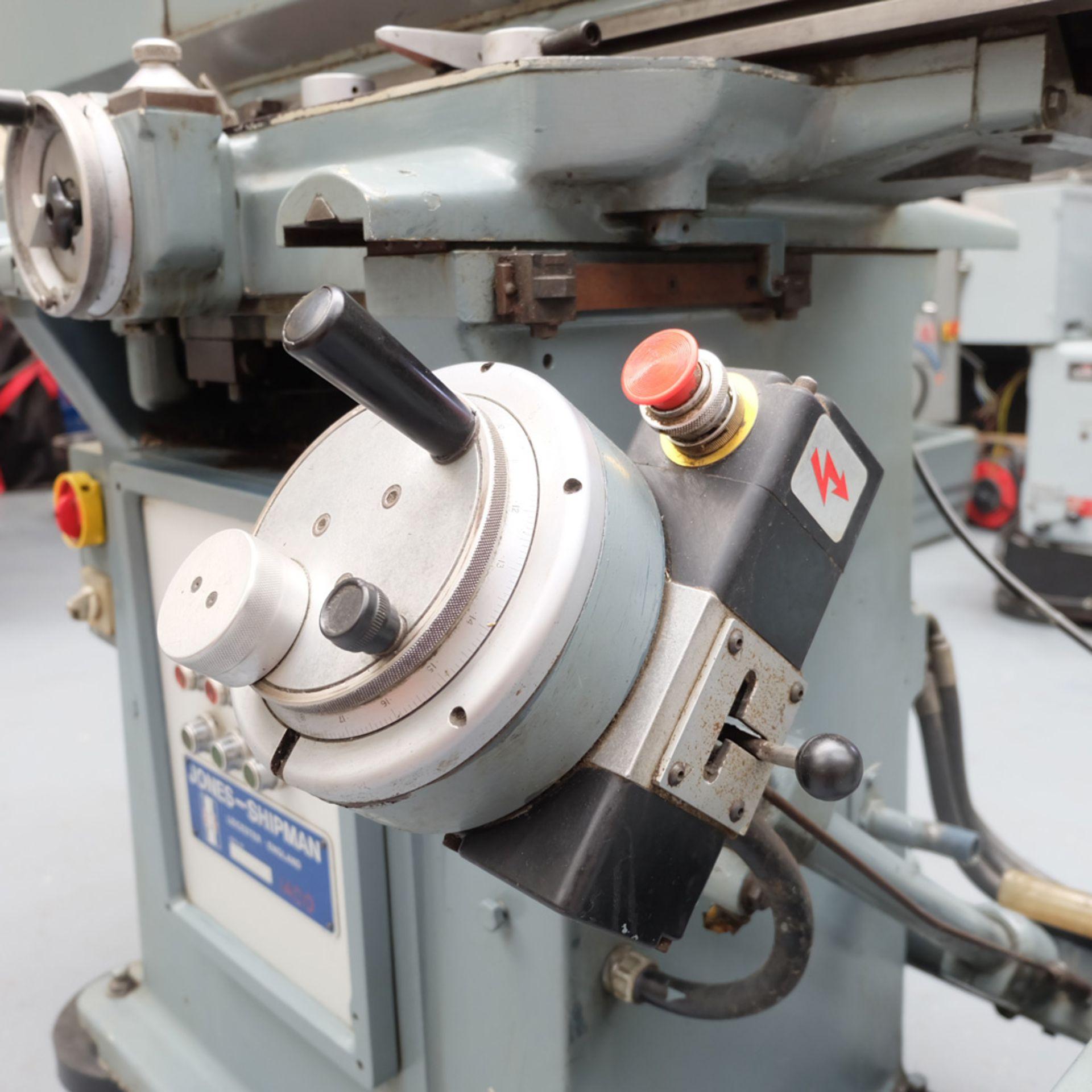 Jones & Shipman 1400P Toolroom Surface Grinder. - Image 3 of 10