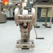 Smart & Brown Model H5 Bench Top Toggle Press.