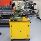 Pedrazzoli Brown 250 Cutting, Deburring and Hydraulic Power Flanging Station On Cabinet.