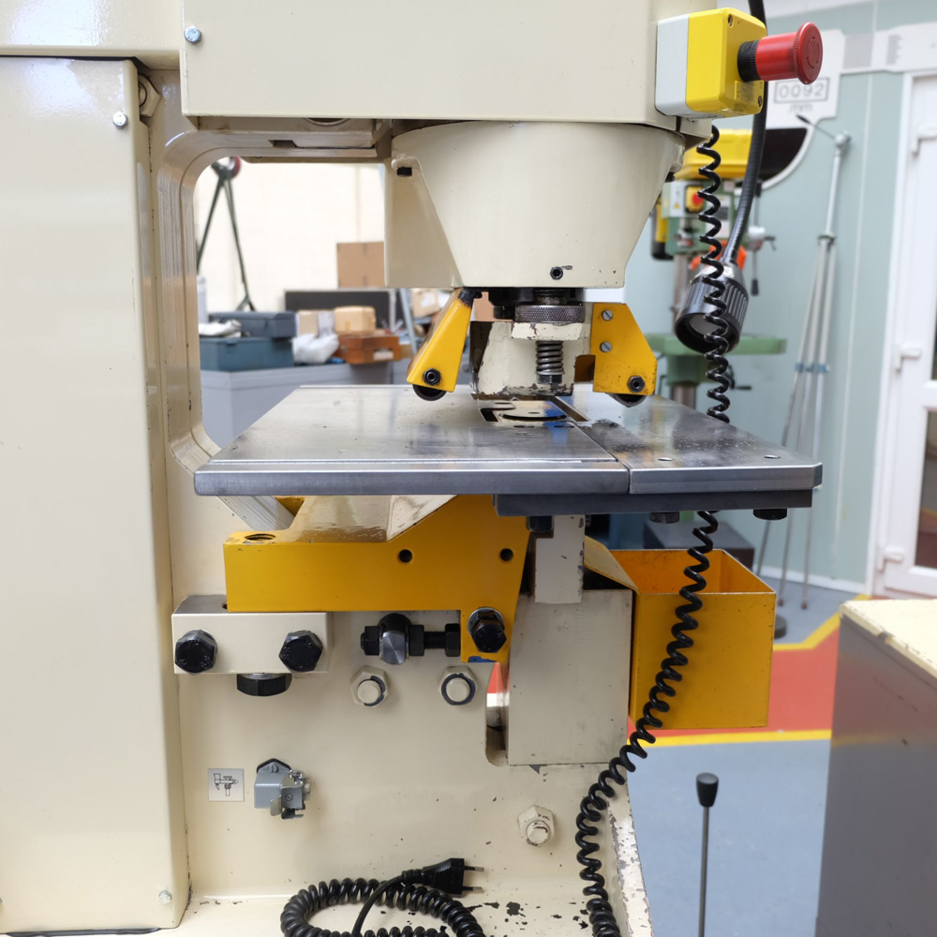 GEKA Model HYD 80/A Universal Steelworker - Image 6 of 21