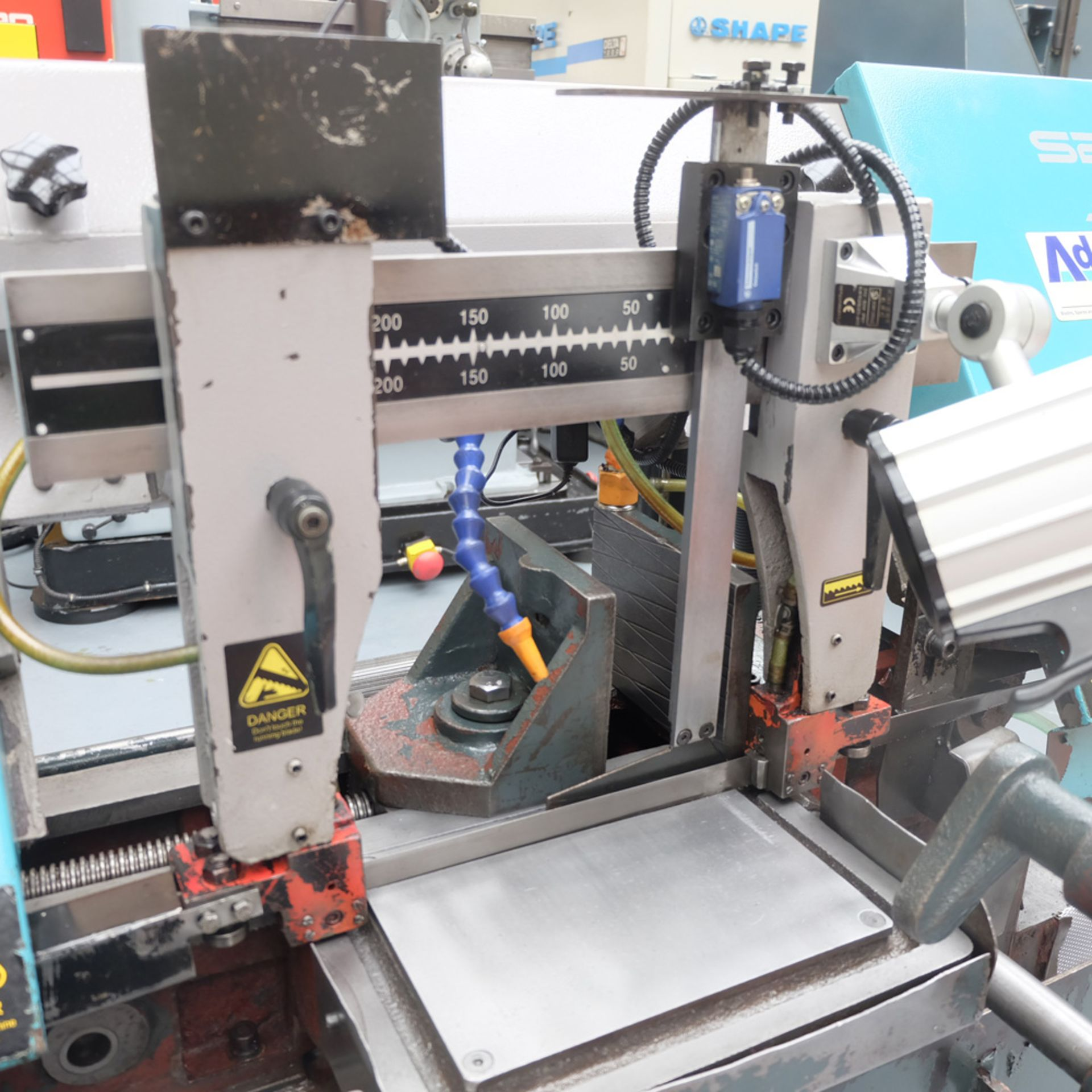 Julihuang By Addison Model S280 MKII Semi-Auto Horizontal Bandsaw. - Image 3 of 9