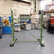 Steel Bar Rack Made By Workshop UK.
