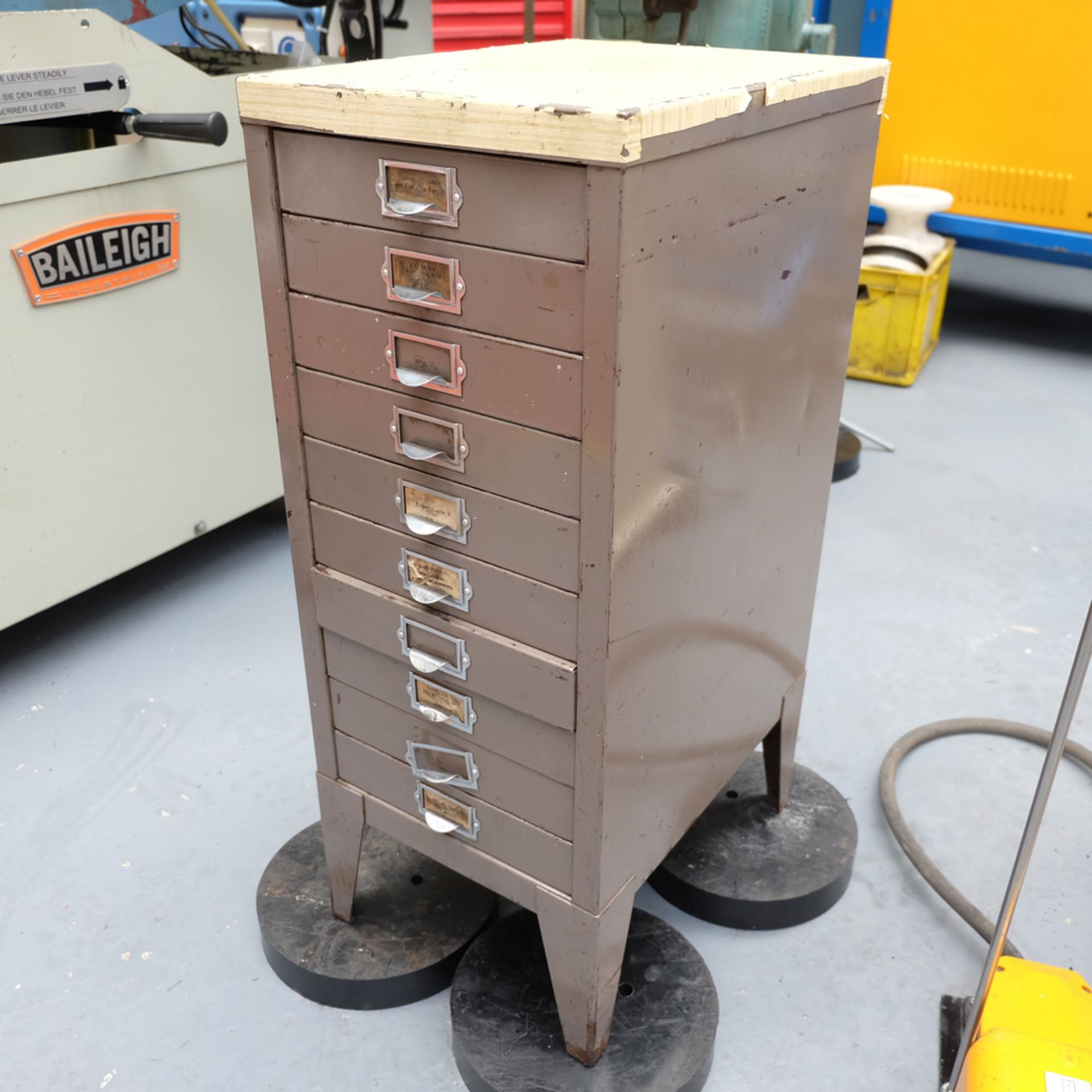 GEKA Model HYD 80/A Universal Steelworker - Image 15 of 21