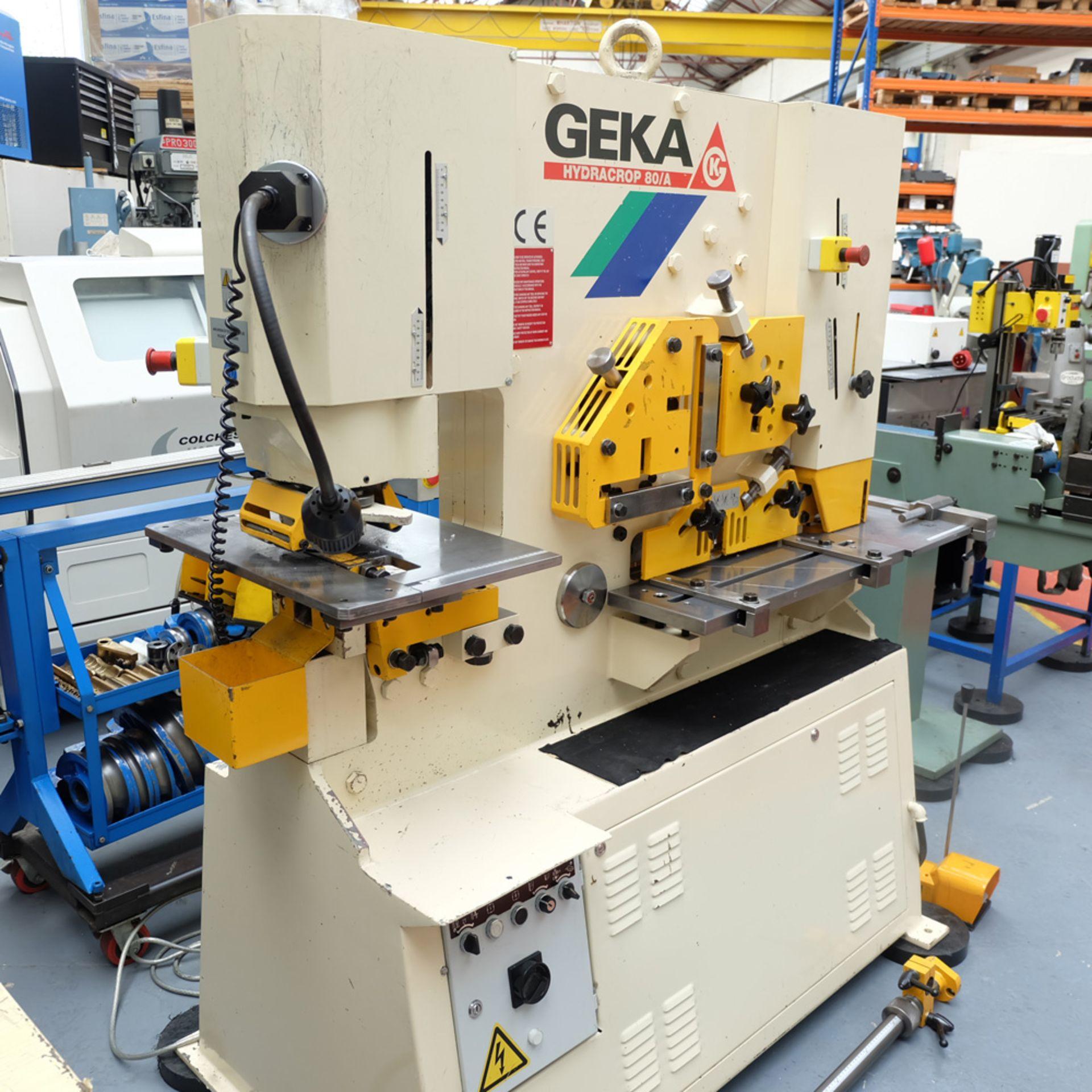 GEKA Model HYD 80/A Universal Steelworker - Image 3 of 21
