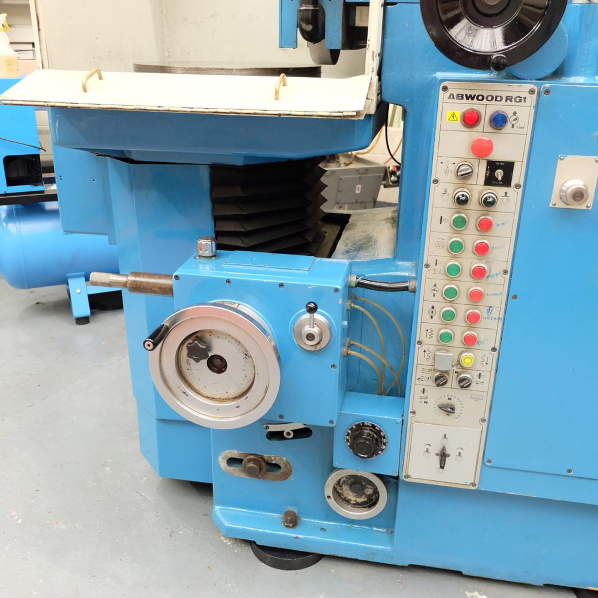 Abwood Type RG1 Tool Room Ring Grinder. Table Size 500mm. Magnetic Chuck 500mm. - Image 4 of 8