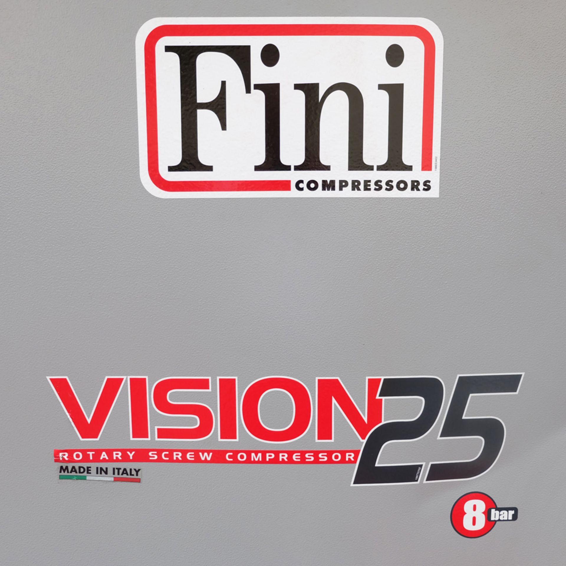 FINI VISION 25 Rotary Screw Compressor. - Image 3 of 11