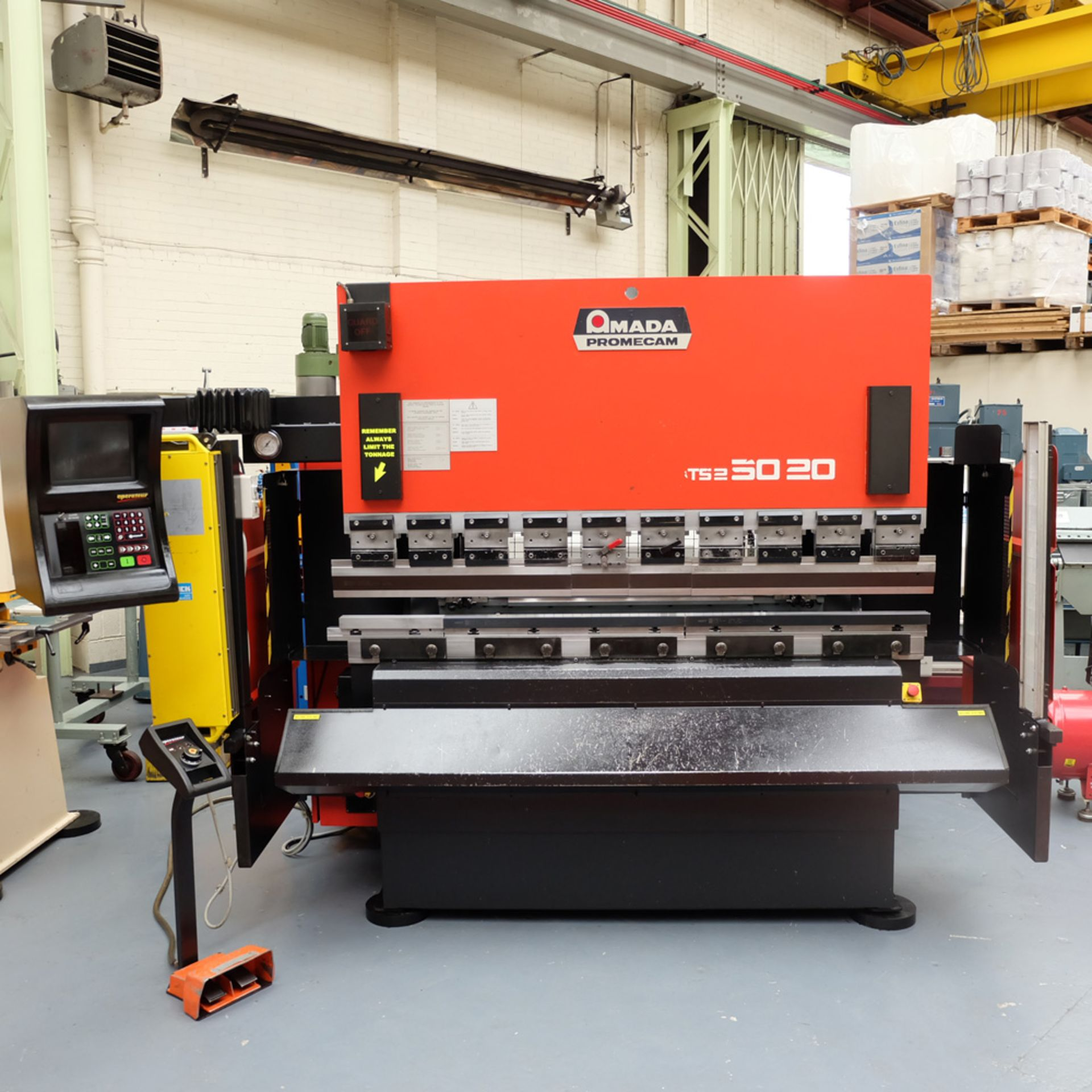 Amada Promecan ITS2 Hydraulic Upstroke Press Brake