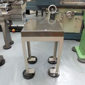 F Z Granite Plate on Steel Stand.