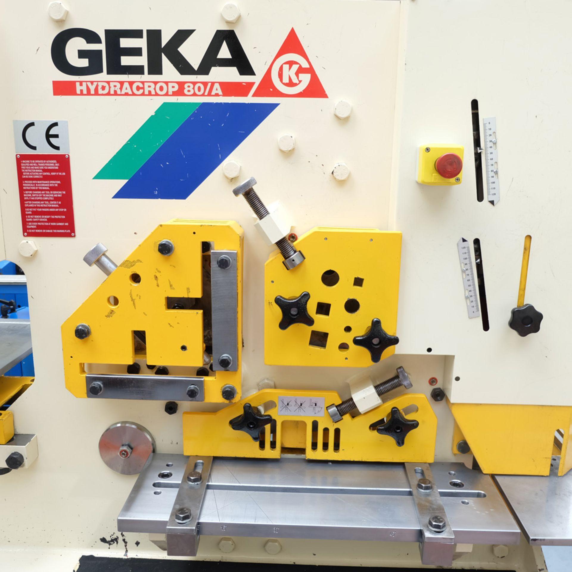 GEKA Model HYD 80/A Universal Steelworker - Image 4 of 21
