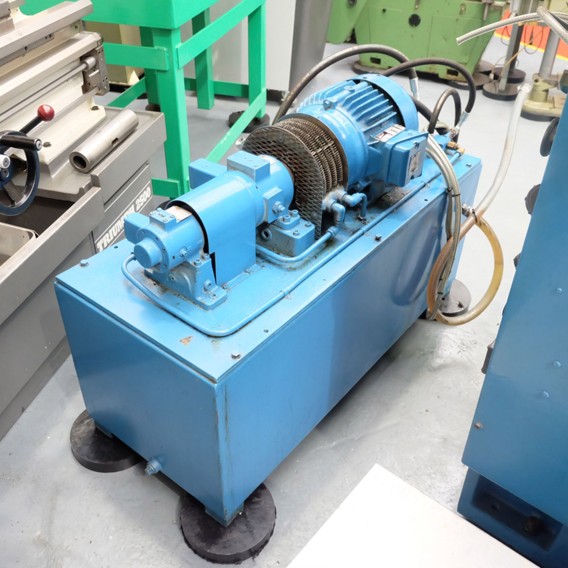Abwood Type RG1 Tool Room Ring Grinder. Table Size 500mm. Magnetic Chuck 500mm. - Image 7 of 8