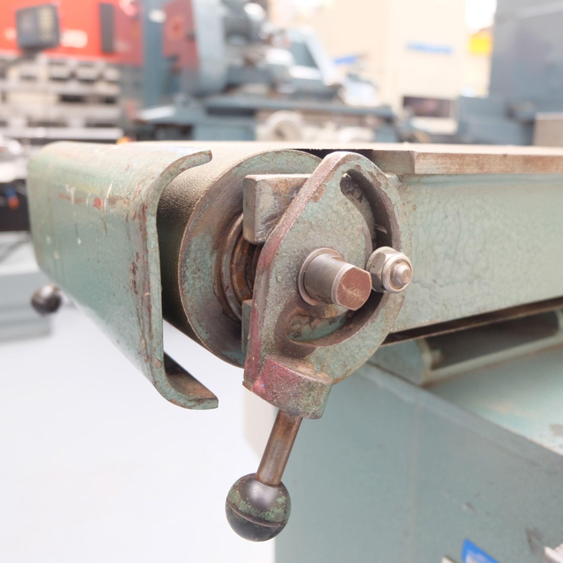 RJH Model 'Moose' Heavy Duty Horizontal Bandfacing / Linishing Machine. - Image 6 of 7