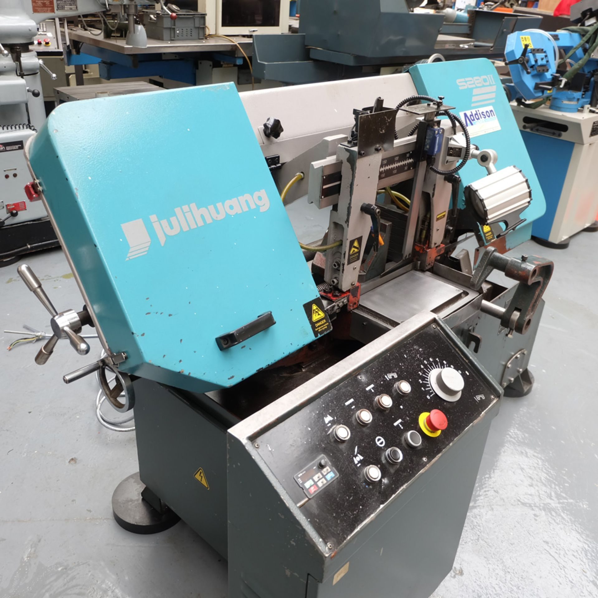 Julihuang By Addison Model S280 MKII Semi-Auto Horizontal Bandsaw. - Image 2 of 9