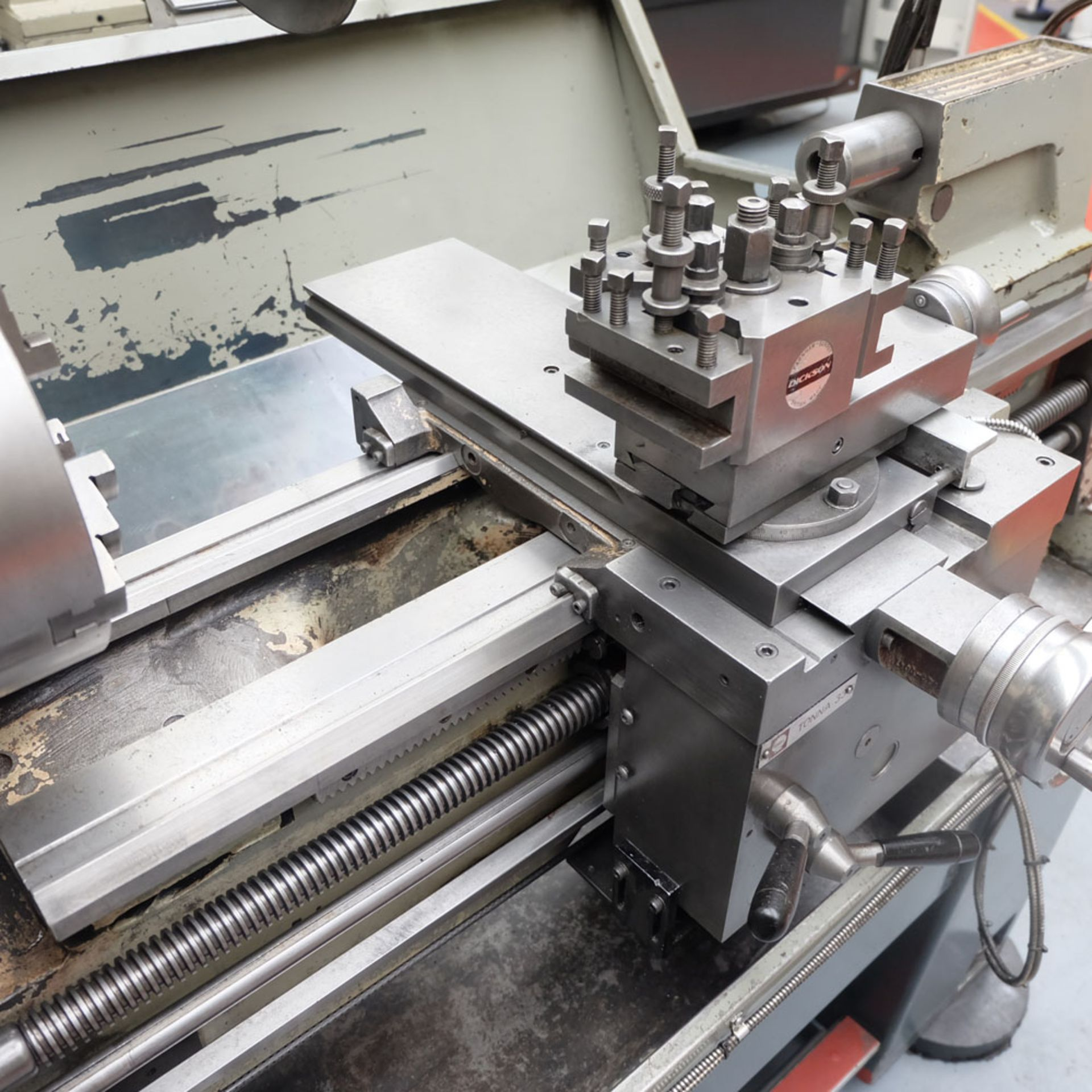 Colchester Student 1800 Gap Bed Centre Lathe. - Image 6 of 8