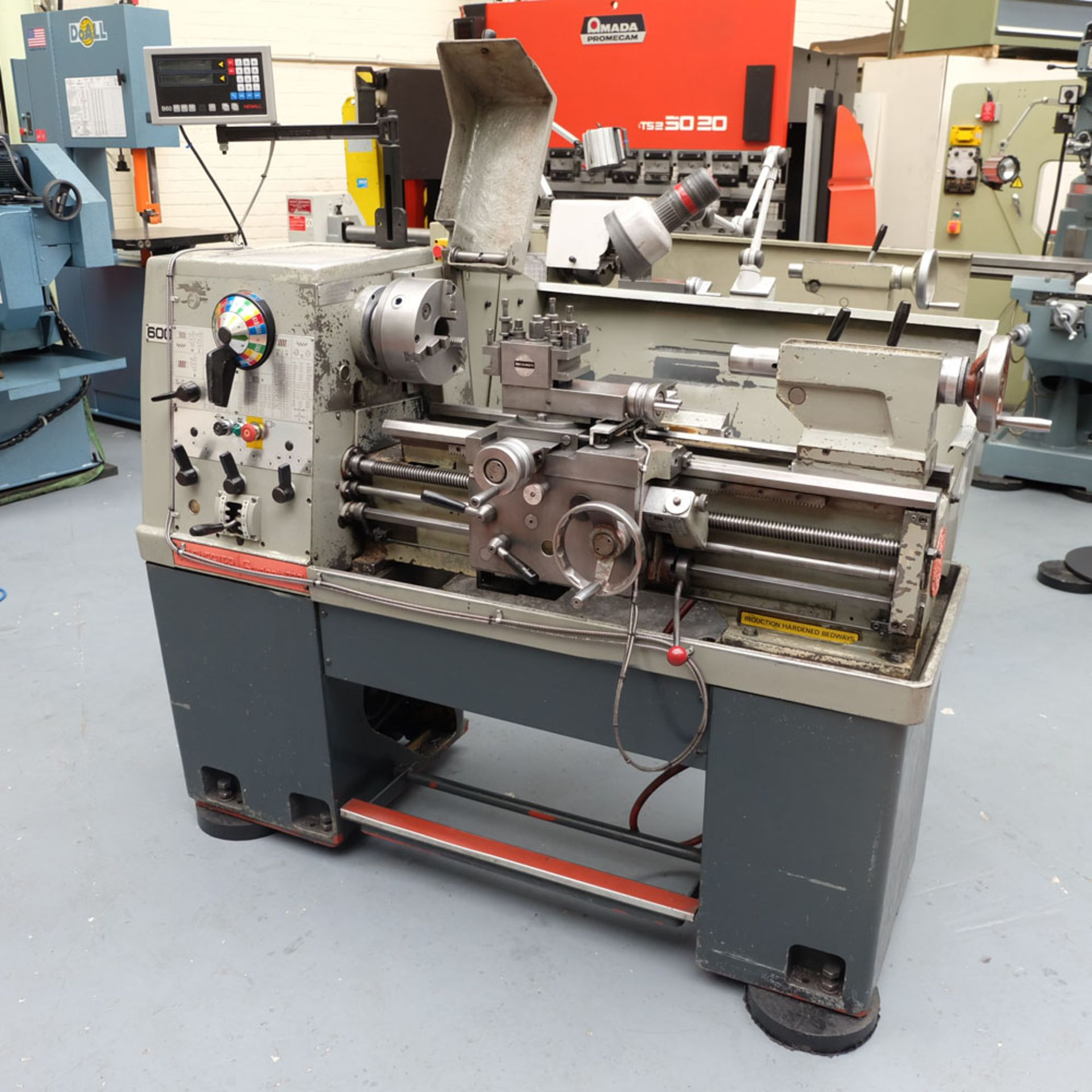 Colchester Student 1800 Gap Bed Centre Lathe. - Image 2 of 8