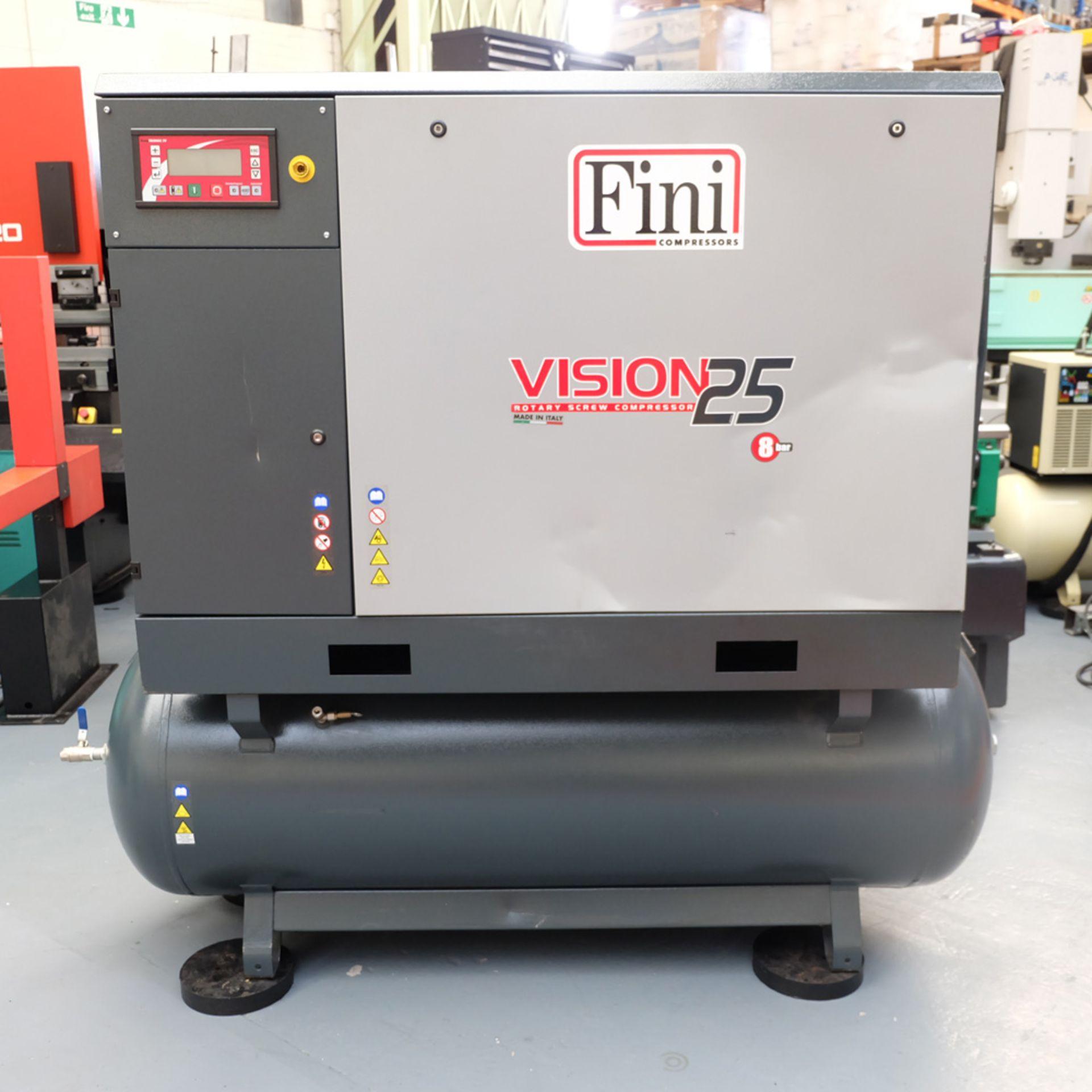 FINI VISION 25 Rotary Screw Compressor.