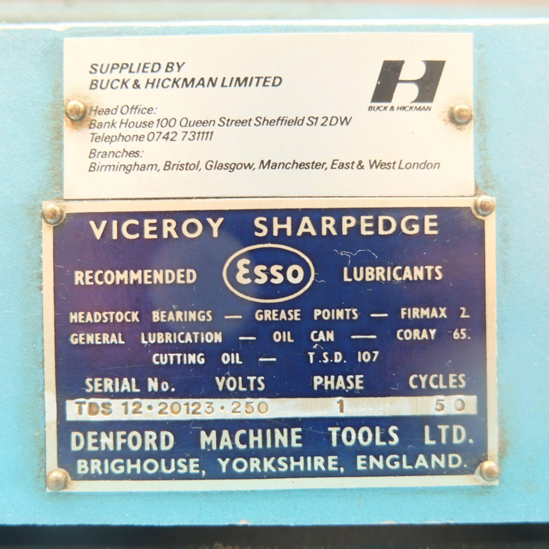 Viceroy Sharpedge Model TDS 12/16 Edge Tool Sharpening Machine. - Image 5 of 6