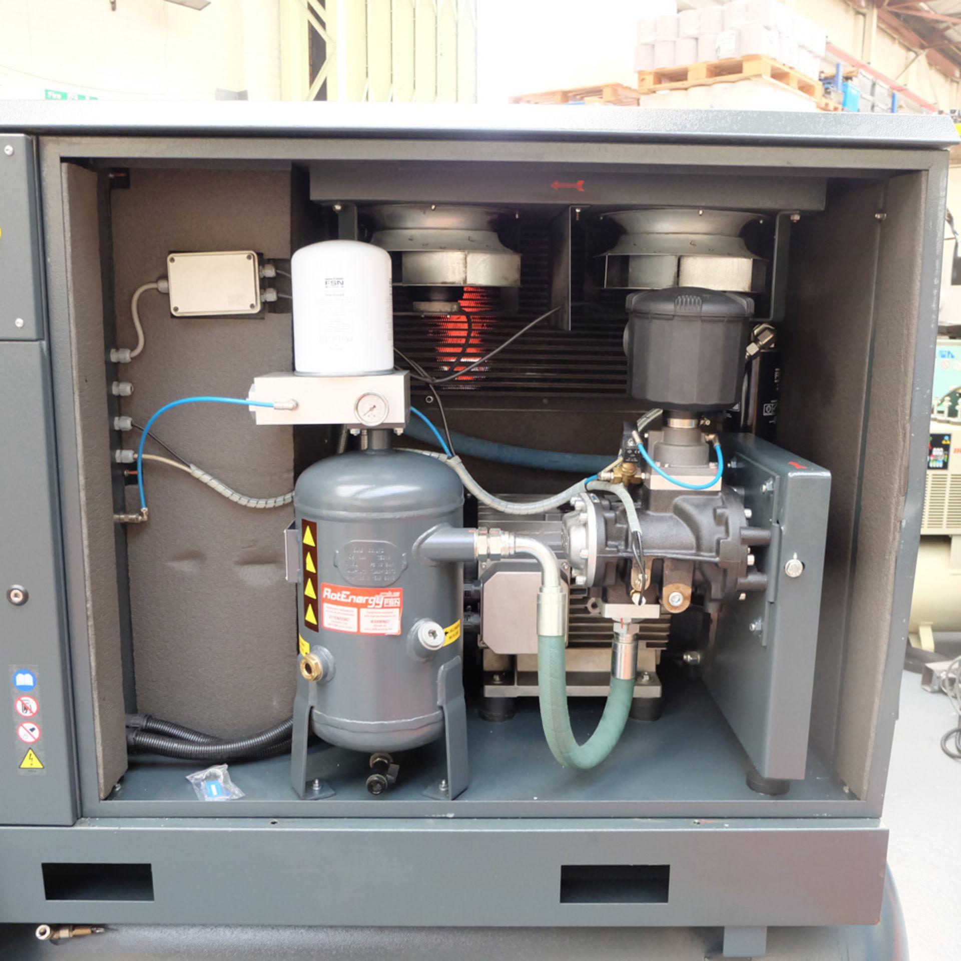 FINI VISION 25 Rotary Screw Compressor. - Image 8 of 11