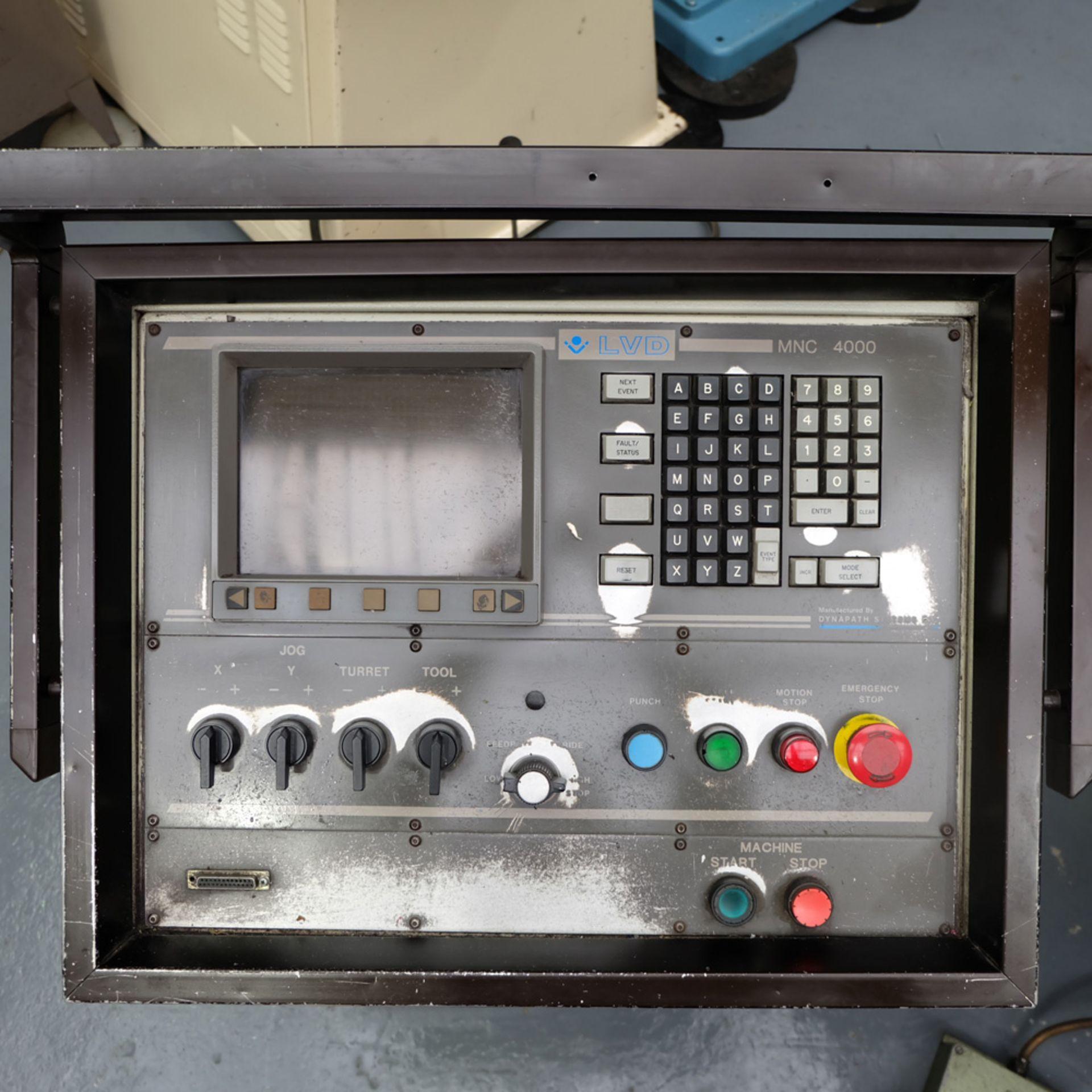LVD Shape Delta 1000 Thick CNC Turret Punching Machine. - Image 8 of 18