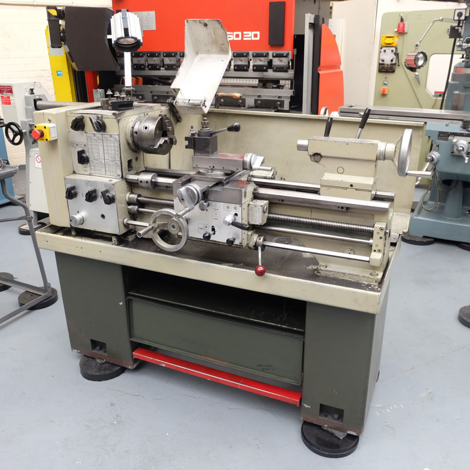 Harrison M300 Straight Bed Centre Lathe. - Image 2 of 6
