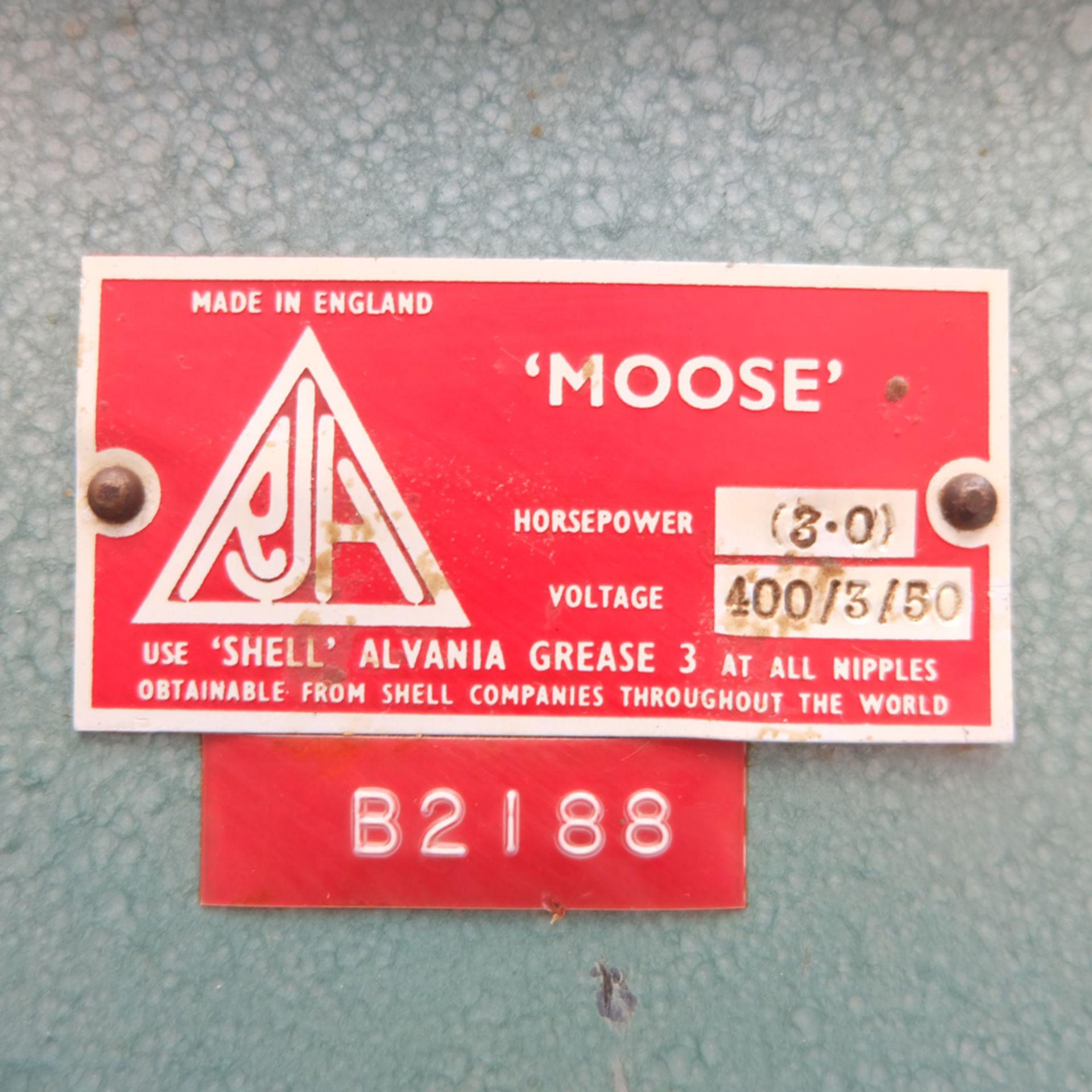 RJH Model 'Moose' Heavy Duty Horizontal Bandfacing / Linishing Machine. - Image 7 of 7