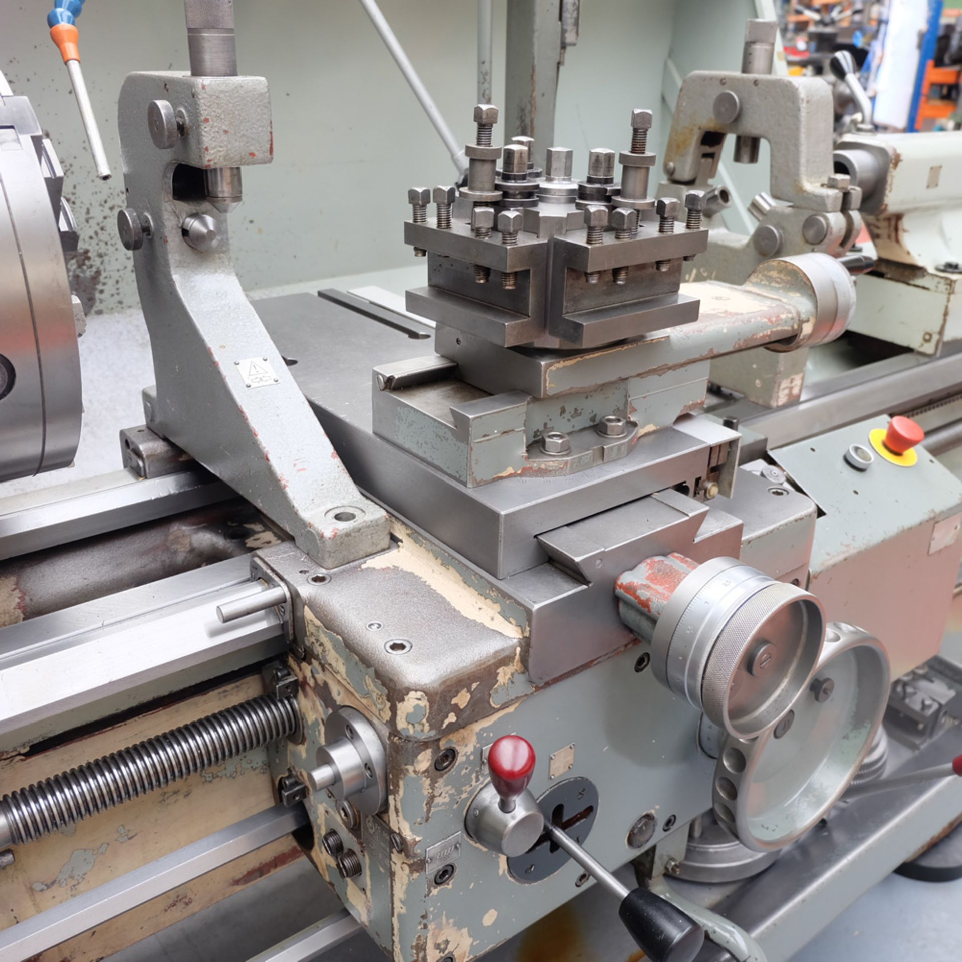 TOS SN 50C Gap Bed Centre Lathe. - Image 5 of 13