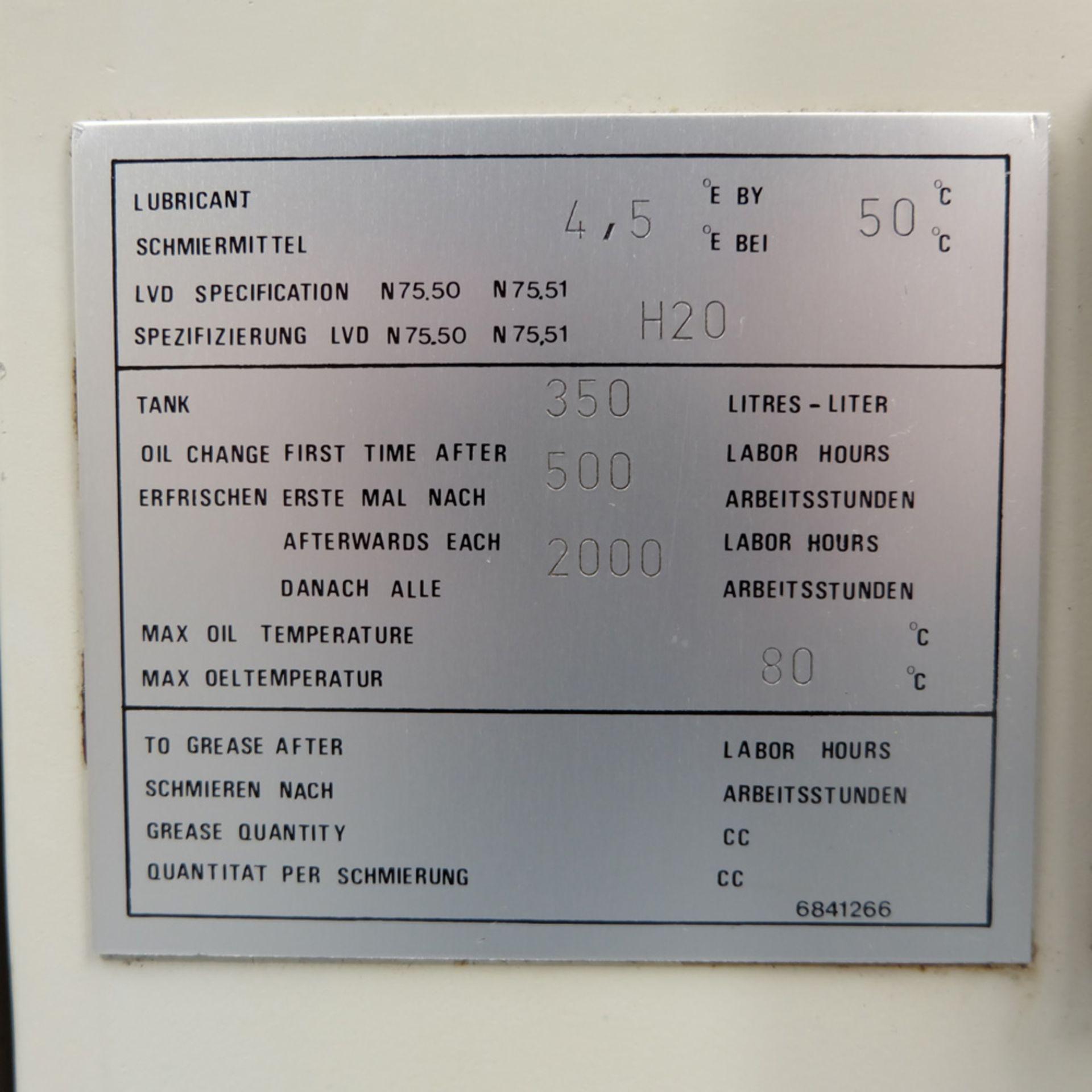 LVD Shape Delta 1000 Thick CNC Turret Punching Machine. - Image 10 of 18