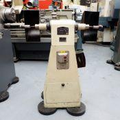 Viceroy Model TDS9 Double Ended Pedestal Polishing Machine.