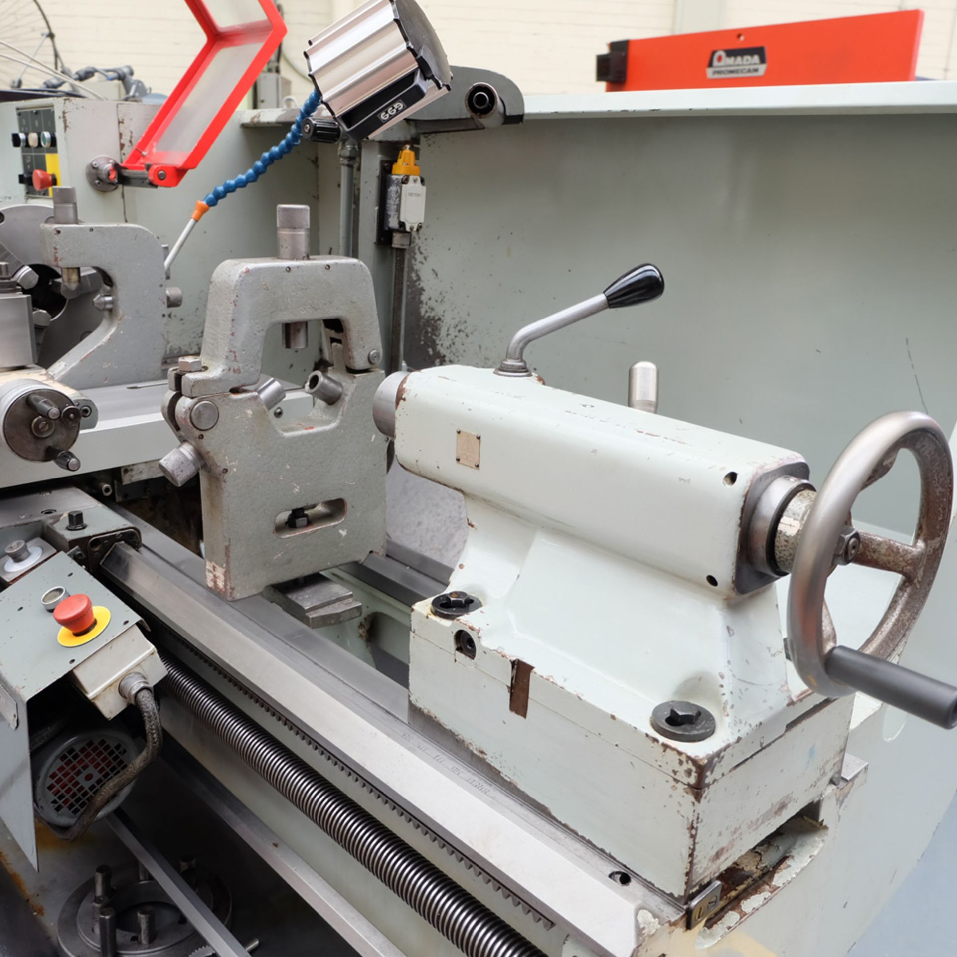 TOS SN 50C Gap Bed Centre Lathe. - Image 8 of 13