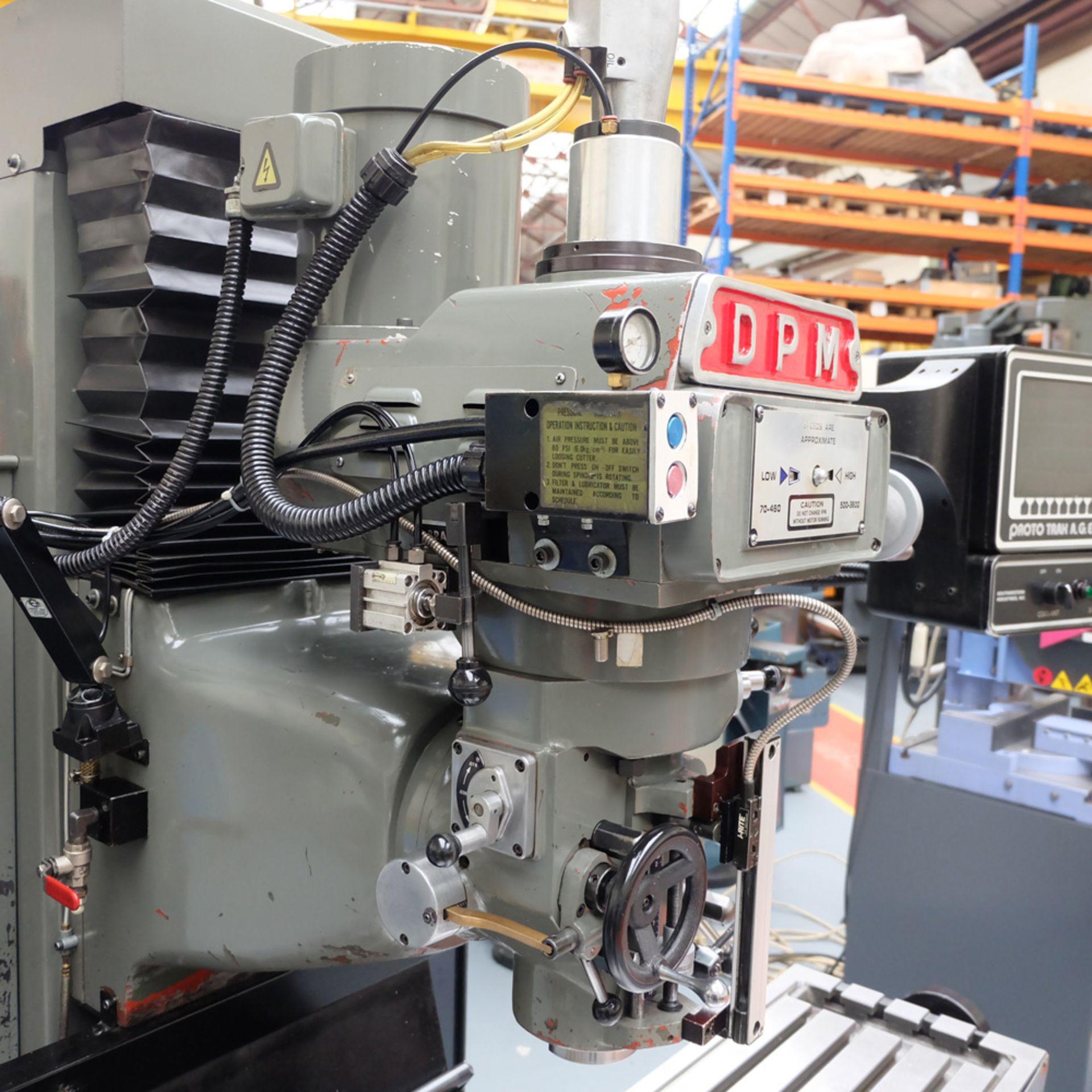 XYZ DPM Bed Mill with ProtoTRAK A.G.E. 3 Control. Prototrak A.G.E. - Image 5 of 10