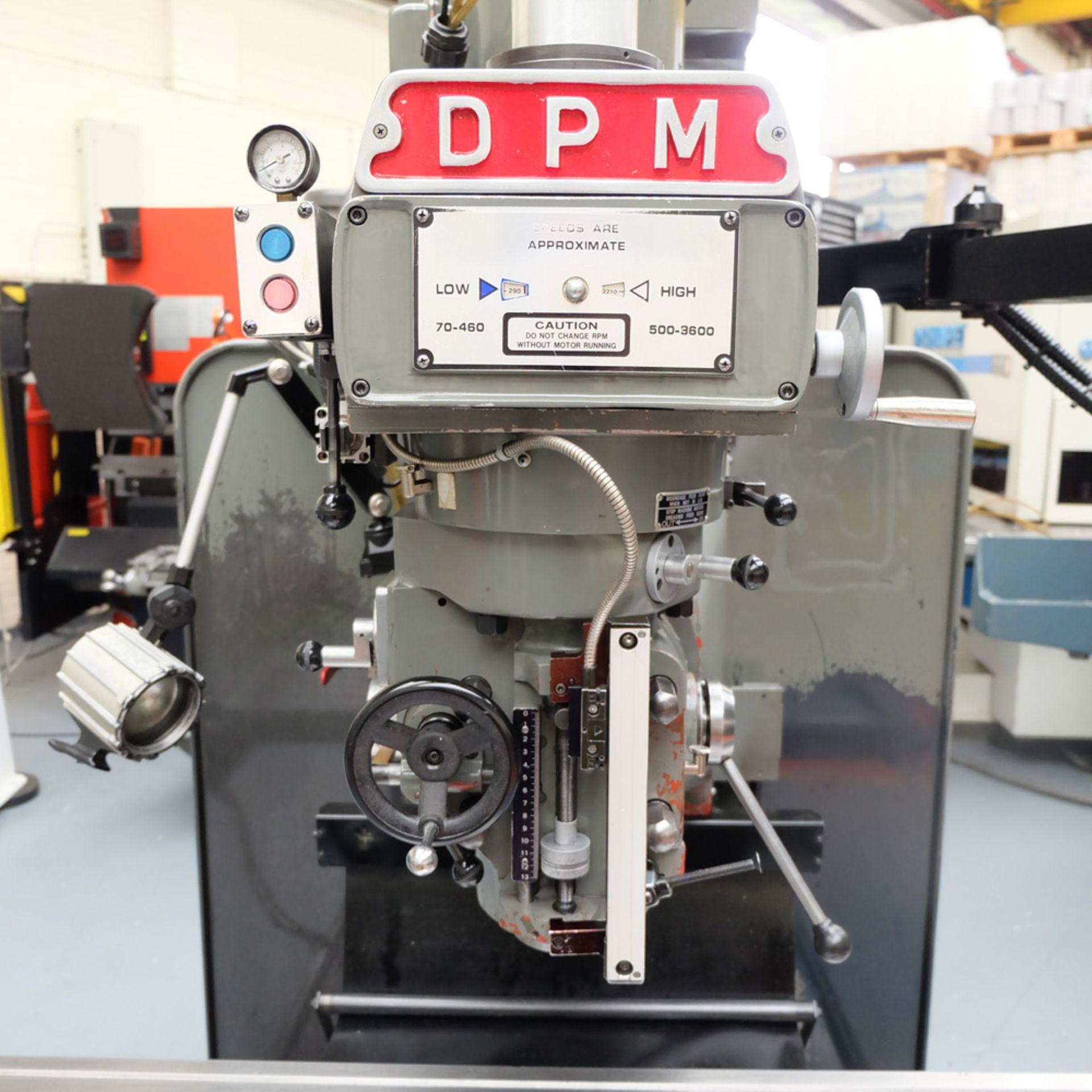 XYZ DPM Bed Mill with ProtoTRAK A.G.E. 3 Control. Prototrak A.G.E. - Image 4 of 10