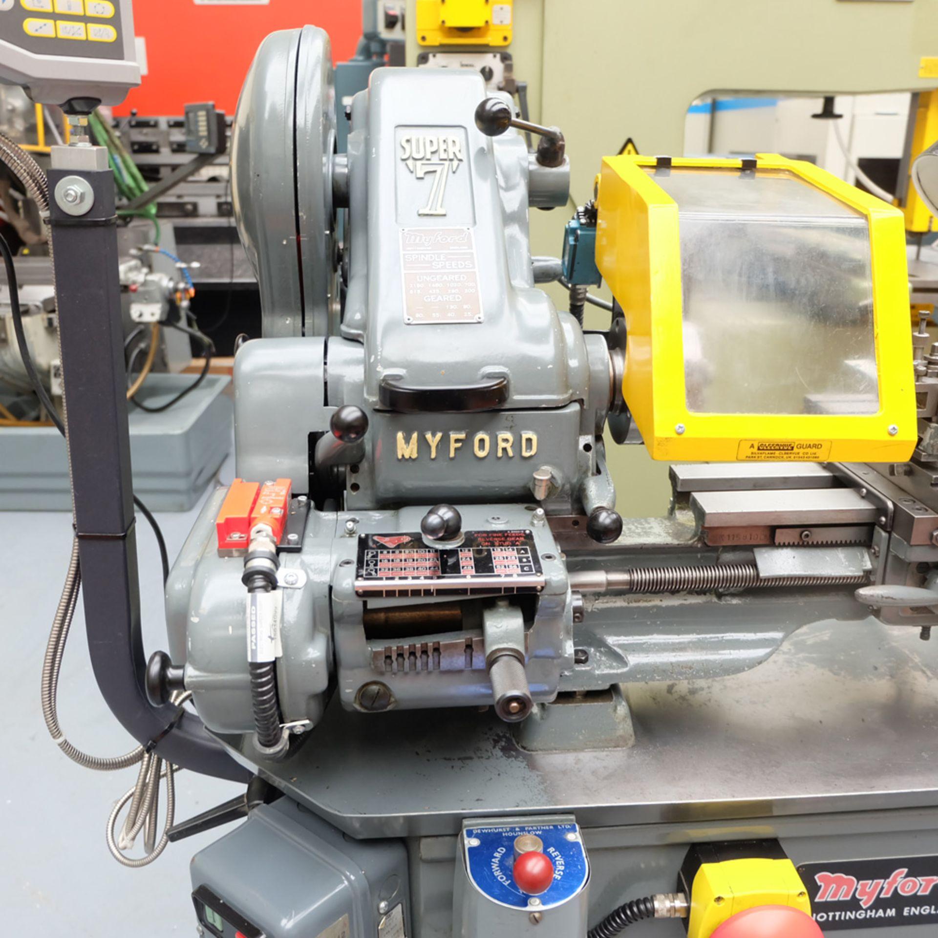 Myford Super 7 Model Makers Centre Lathe. - Image 2 of 17