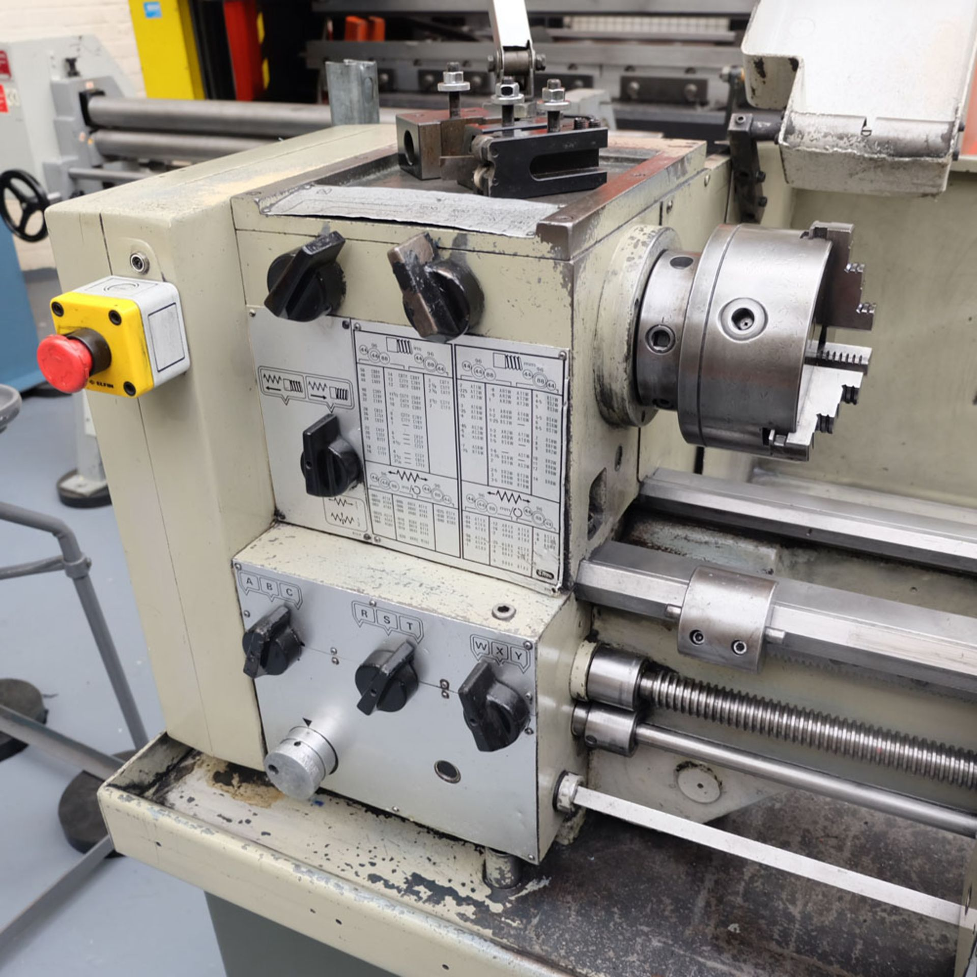 Harrison M300 Straight Bed Centre Lathe. - Image 3 of 6