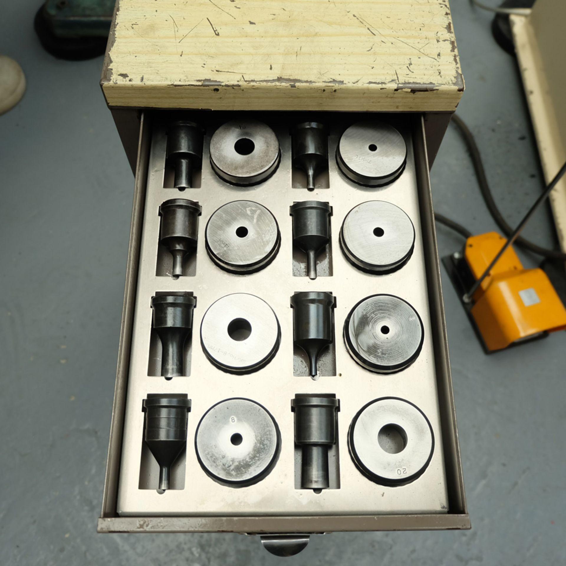 GEKA Model HYD 80/A Universal Steelworker - Image 16 of 21
