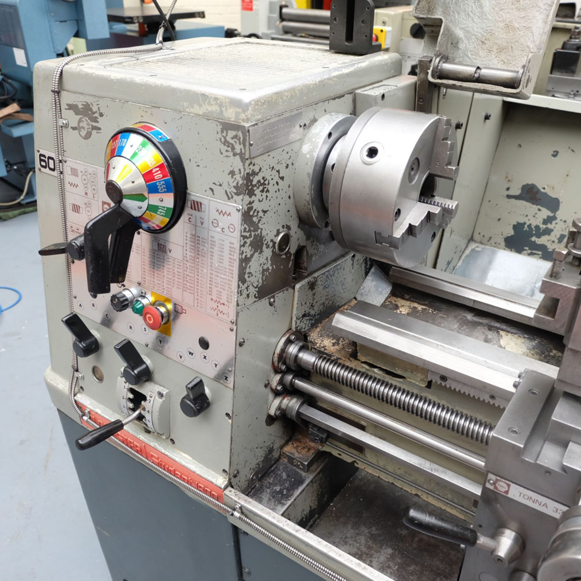 Colchester Student 1800 Gap Bed Centre Lathe. - Image 4 of 8