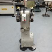 """RJH Double Ended Pedastal Tool Grinder. Wheel Size: 10"""" x 1""""."""