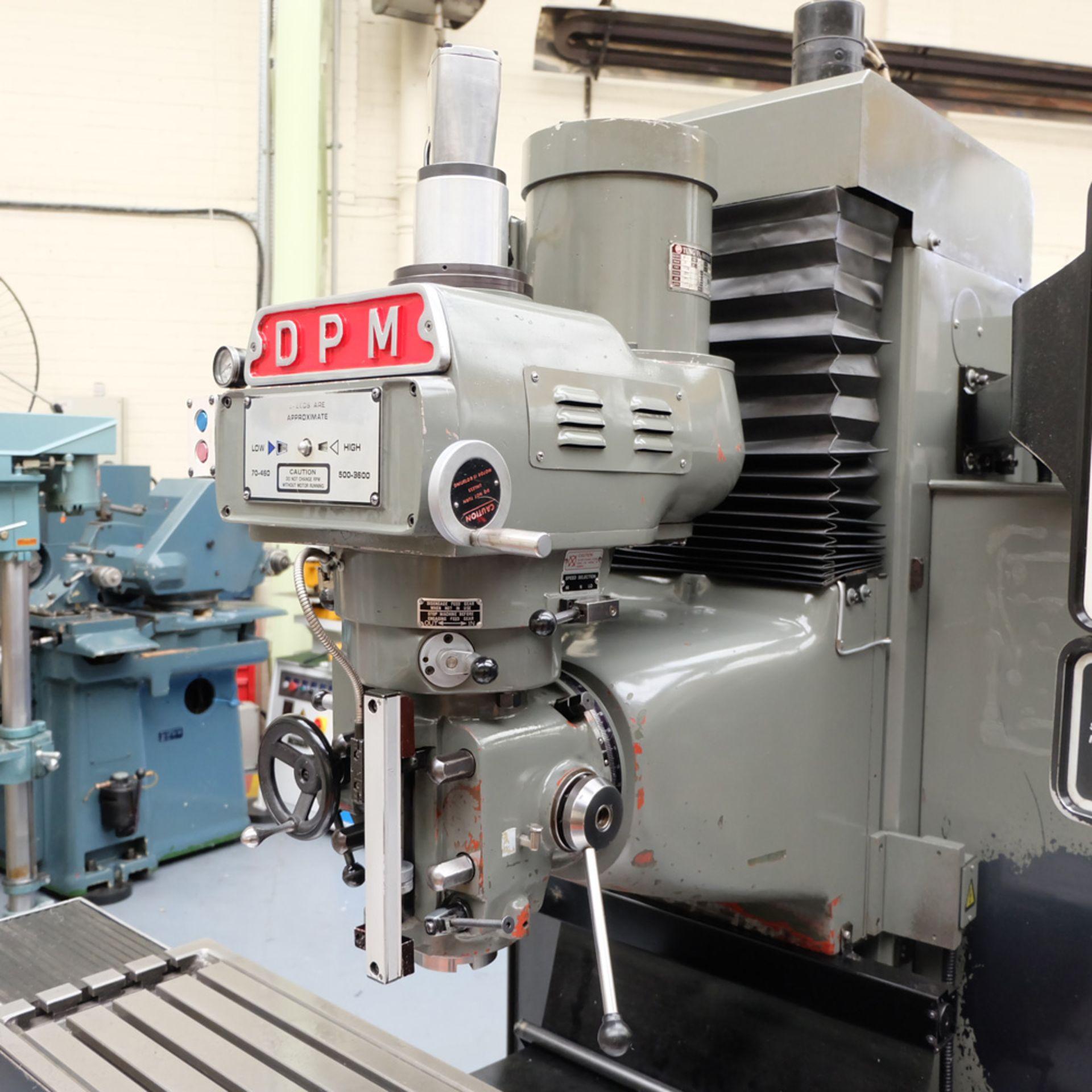 XYZ DPM Bed Mill with ProtoTRAK A.G.E. 3 Control. Prototrak A.G.E. - Image 3 of 10