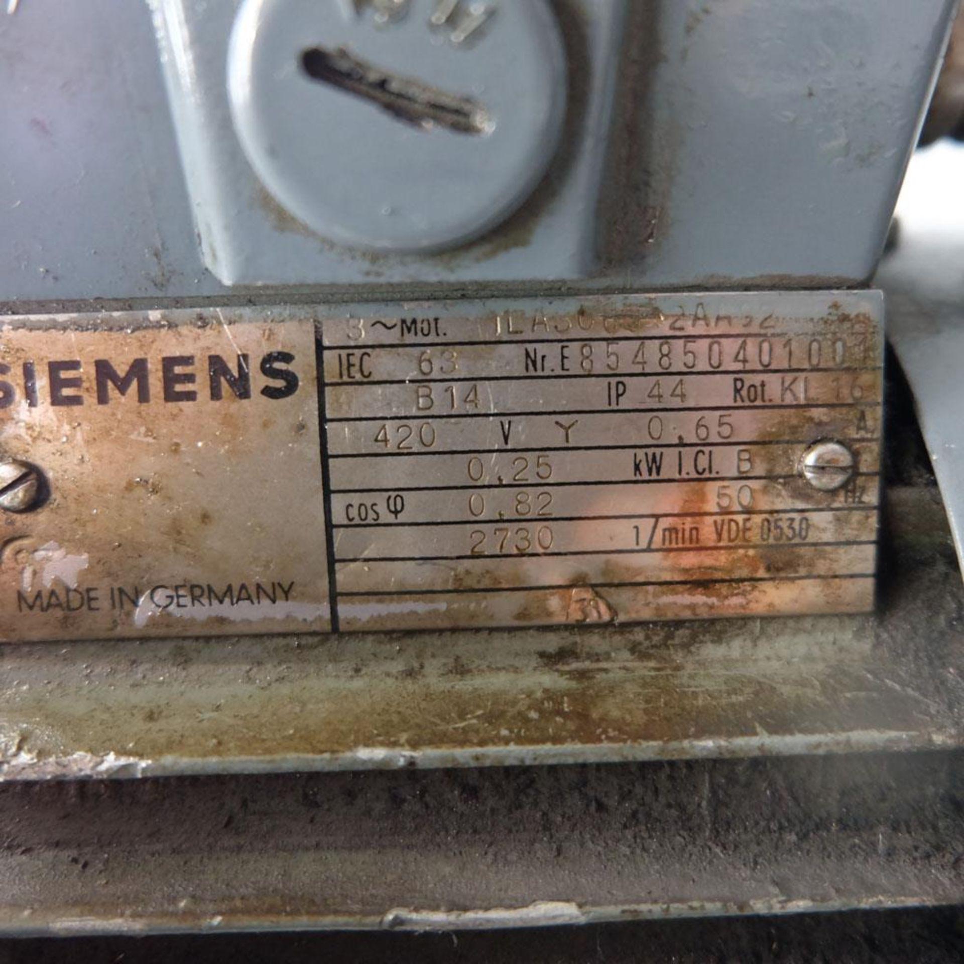 """Spindeldrehzahlen High Speed Bench Drill. 8 x Speeds: 650 - 12,0000 rpm. Drilling Depth: 2"""". - Image 5 of 5"""