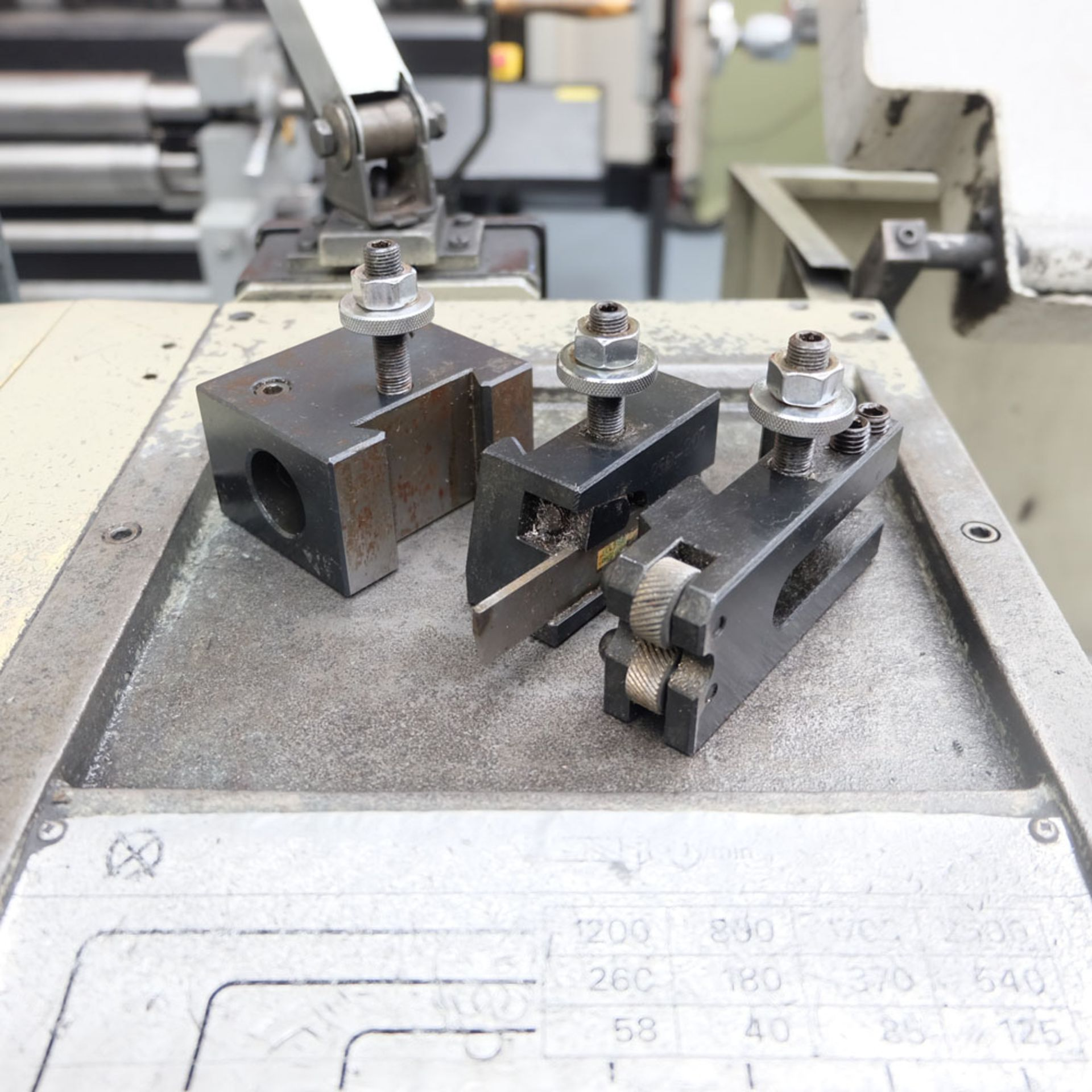 Harrison M300 Straight Bed Centre Lathe. - Image 6 of 6